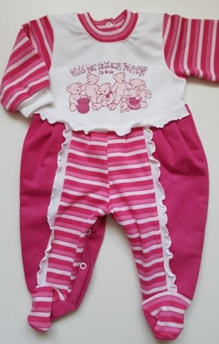 pamut bébi tipegő pink